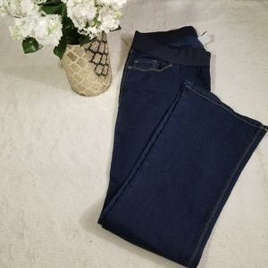 OLD NAVY MATERNITY JEANS  BOOTCUT STRETCH 10